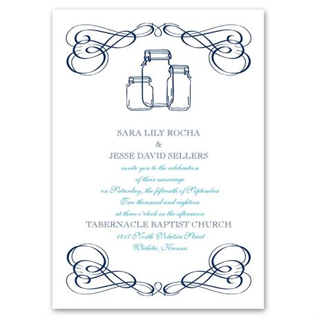 Framed in Swirls Choose Your Design Invitation