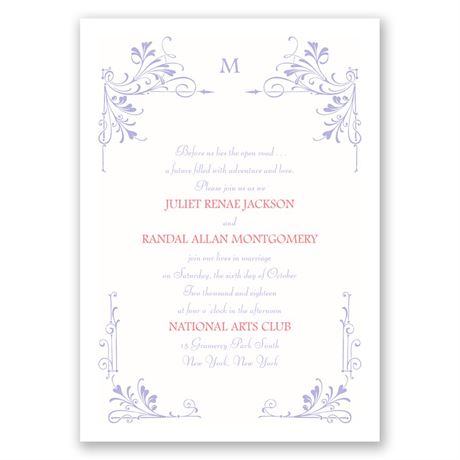 Fairytale Border Invitation