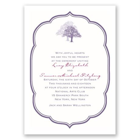 Rooted in Love Invitation