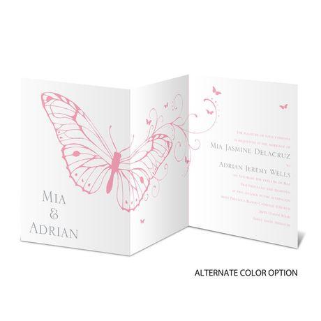 Butterfly Journey - Invitation