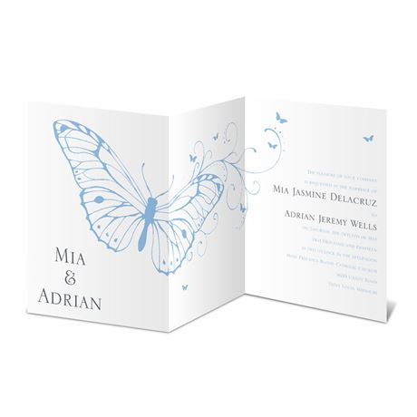 Butterfly Journey Invitation