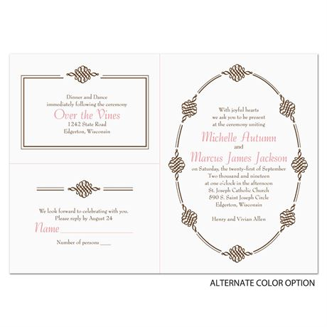 Ornamental Trim - Separate and Send Invitation