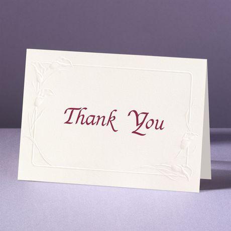 Crazy For Callas Thank You Card and Envelope