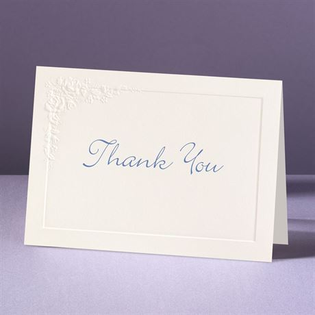 Cherished Roses Thank You Card and Envelope