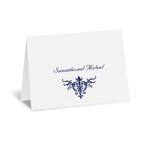 Pure Sophistication Thank You Card and Envelope