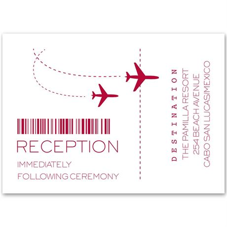 Boarding Pass Reception Card