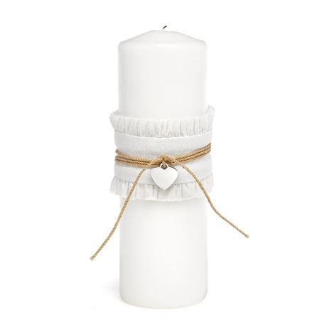 Rustic Romance Unity Candle Wrap