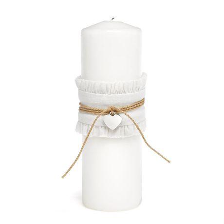 Rustic Romance Unity Candle Wrap
