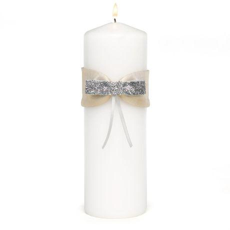 Metallic Sparkle Unity Candle