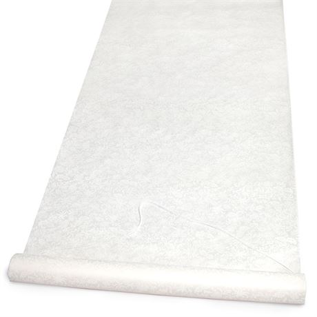 Ivory Lacy Patterned Aisle Runner