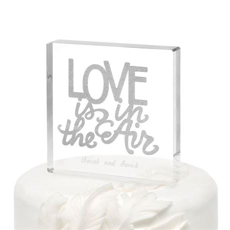 Love is in the Air Cake Top