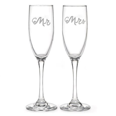 Love is in the Air Toasting Flutes