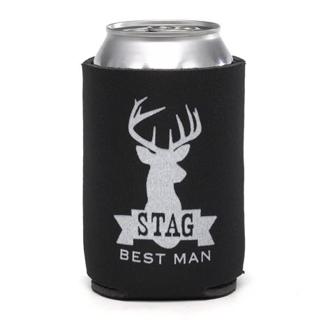 Stag Can Cooler Best Man