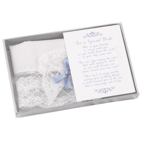 Handkerchief Keepsake for Bride