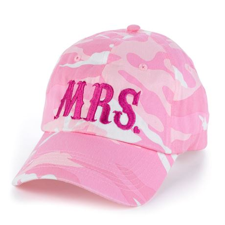 Mrs. Camo Cap