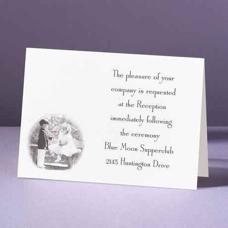 Together Forever Reception Card