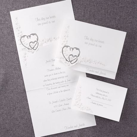 Hearts Aglow Invitation