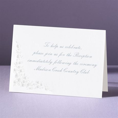Hearts Aglow Reception Card