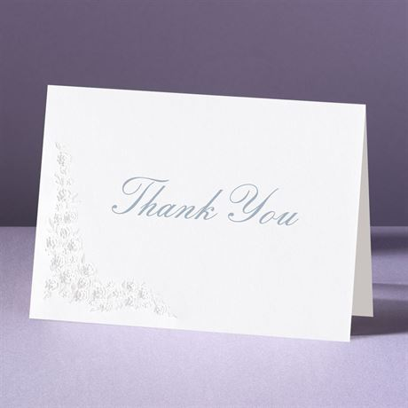 Hearts Aglow Thank You Card and Envelope
