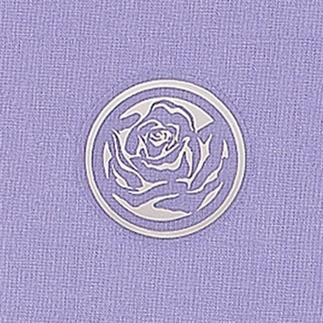 Clear Rose Foil Seal