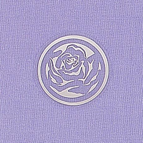 Clear Rose Foil Seal