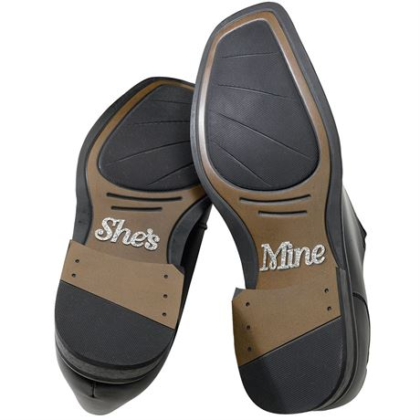 "She""s Mine Shoe Stickers"