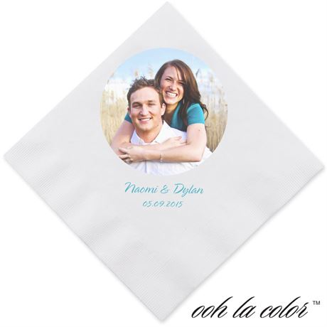 Favorite Photo Dinner Napkin