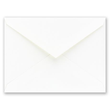 "White Envelope 4 3/4"" x 6 1/2"