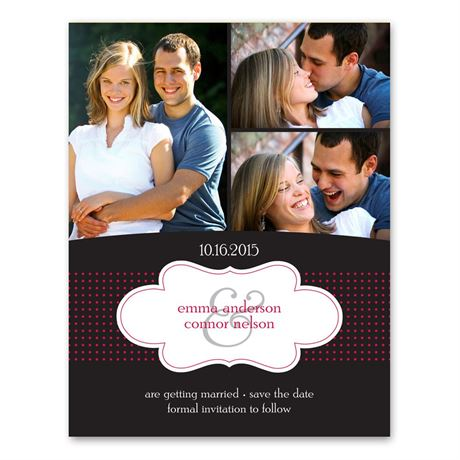 Cloud 9 Photo Save the Date Card