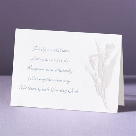 With Such Grace Reception Card