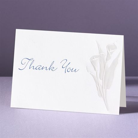 With Such Grace Thank You Card and Envelope