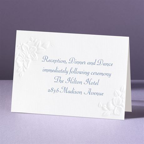Interlocking Hearts Reception Card