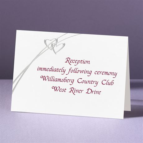 Love Struck Reception Card