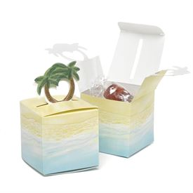 Palm Tree Favor Boxes