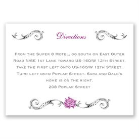 Fairy Tale Roses - Map Card