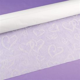 Interlocking Hearts Aisle Runner