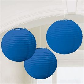 Royal Blue Paper Lanterns