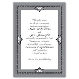 Charming Frame - Invitation