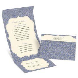Garden Gate - Ecru - Seal and Send Invitation
