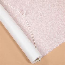 White Lacy Patterned Aisle Runner