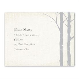 Secret Spot - Sterling - Reception Card