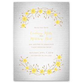 Truly, Madly, Deeply - Save the Date Card