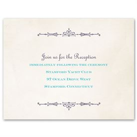Charmed - Reception Card
