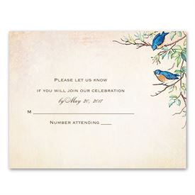 Bluebird Melody - Response Card