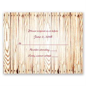 """Gettin"""" Hitched - Response Card"""