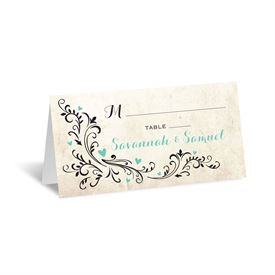 Blossoming Love - Place Card