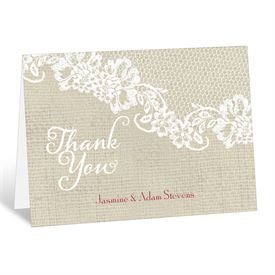 Country Details - Thank You Card