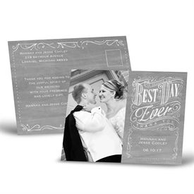 wedding thank you postcards ann s bridal bargains