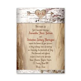 Small Petite Wedding Invitations Anns Bridal Bargains