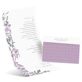 Rose Impression - Seal and Send Invitation